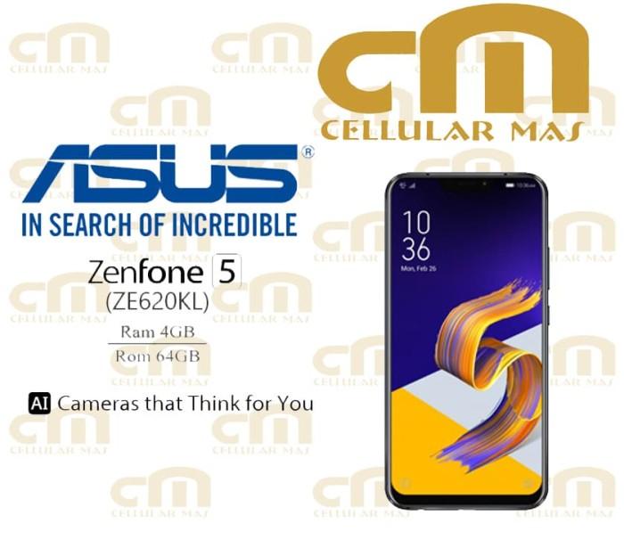 harga Asus zenfone 5 ze620kl 4/64 garansi resmi asus - silver Tokopedia.com