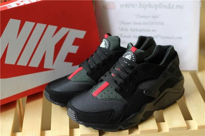 brand new ea804 03779 Jual sepatu nike air huarache x gucci black green red hitam hijau merah -  Jakarta Selatan - treashoes | Tokopedia