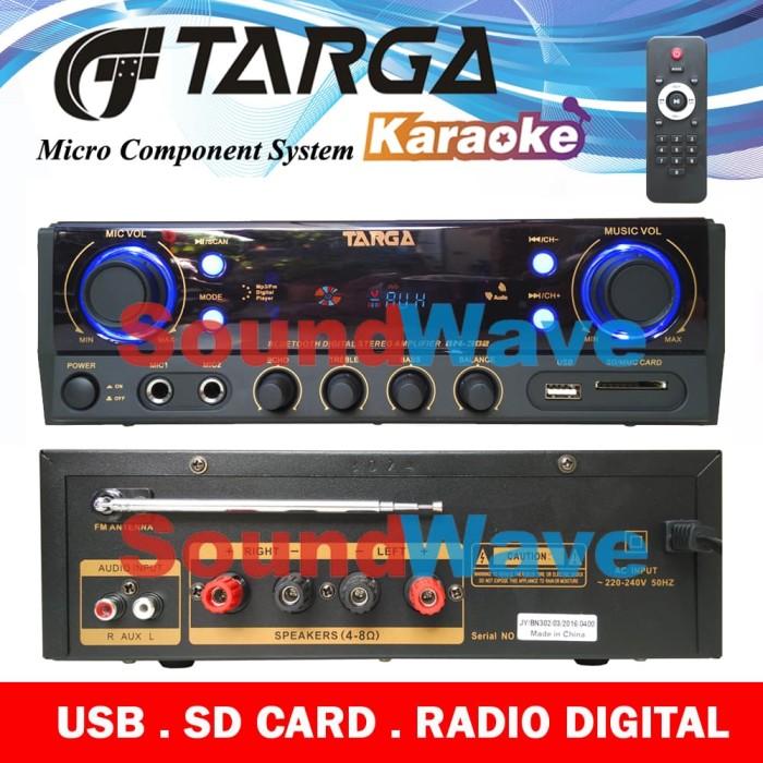 harga Amplifier targa bn 302 power mixer karaoke bn302 Tokopedia.com