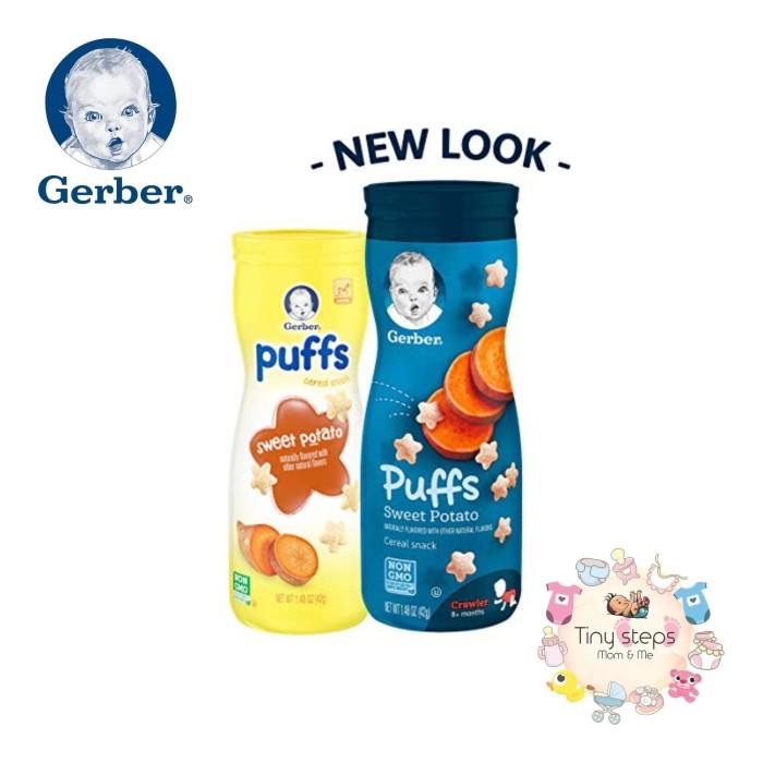 harga Gerber baby&kids puffs cereal snack sweet potato (snack rasa kentang) Tokopedia.com