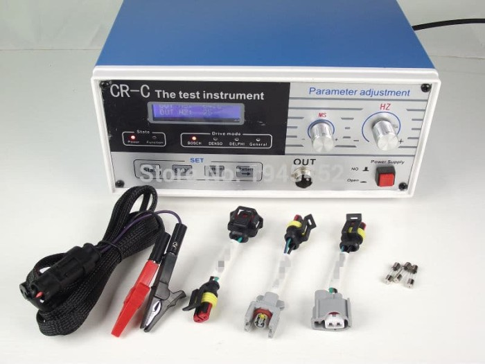 New Multi-function CR-C Diesel Common Rail Injector Tester S60H Fuel Nozzle Kit