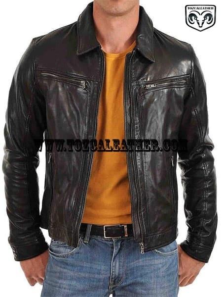 41 Model Jaket Kulit Jangkis HD Terbaru