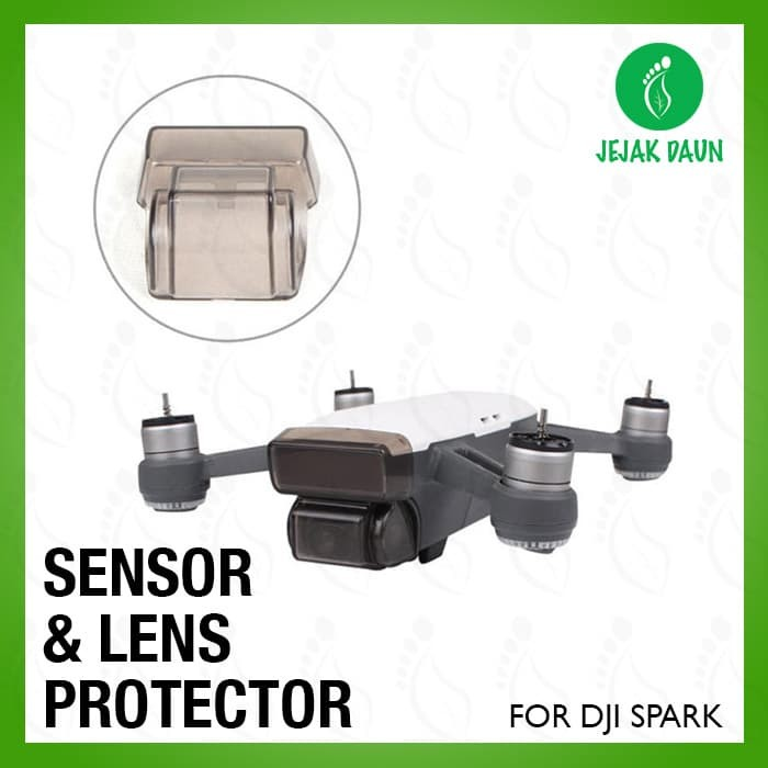 harga Pelindung lensa kamera gimbal dan sensor depan untuk dji spark Tokopedia.com
