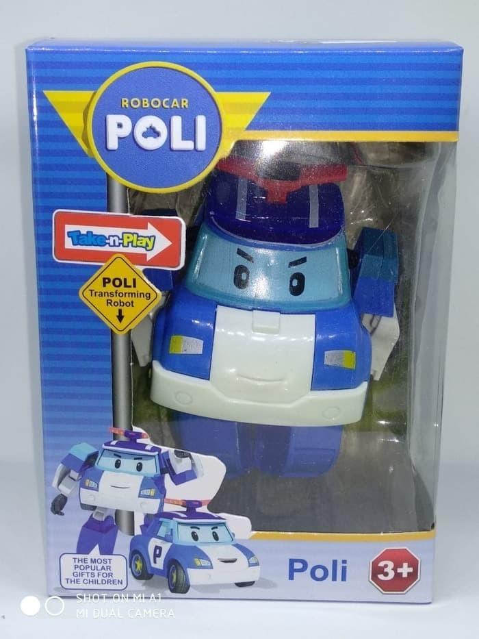 Jual Promo Robocar Poli Mainan Robot Bisa Jadi Mobil Robo Car Poli