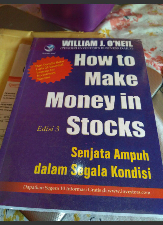 harga How to make money in stocks - william j o neil Tokopedia.com