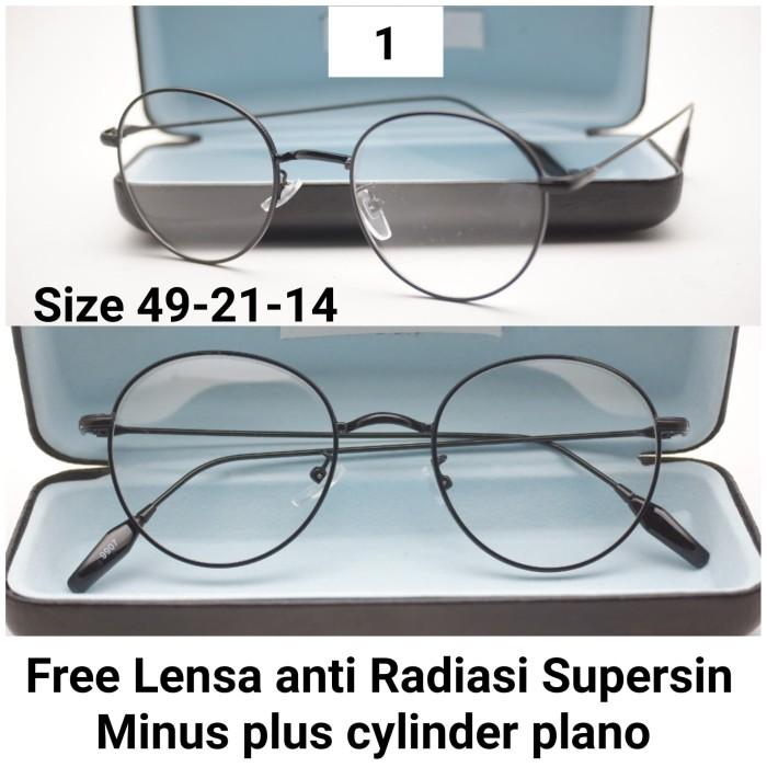 Frame kacamata retro kacamata linda farrow kacamata bulat e0bf01815b