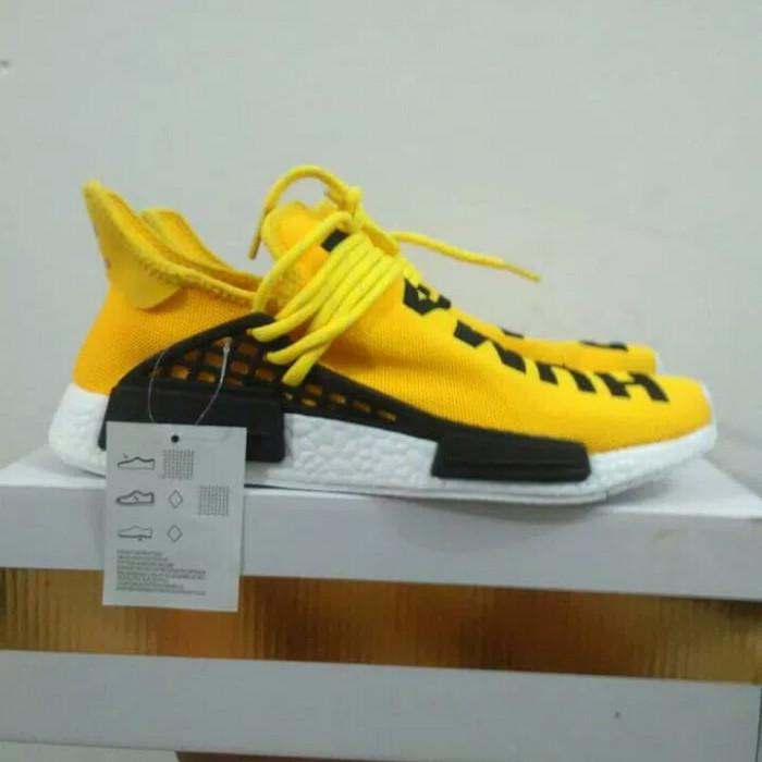 ee82e6bcf6884 Jual Adidas NMD R1 x Pharrell Williams x Human Race Yellow - Kota ...