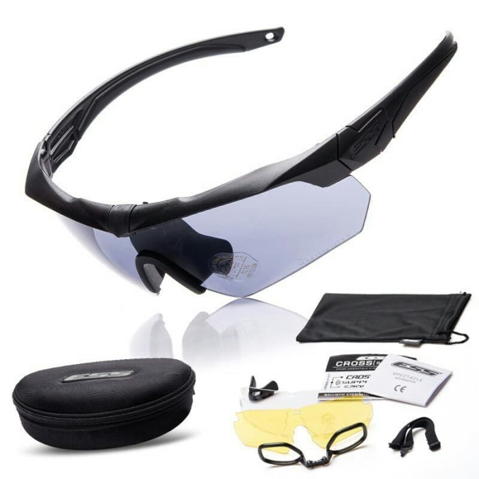 harga Kacamata outdoor ess crossbow 3 lensa polarized import surabaya Tokopedia.com