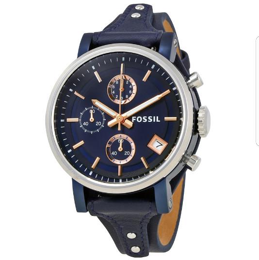 harga Jam tangan wanita fossil boyfriend original es 4113 blues + tin box fs Tokopedia.com