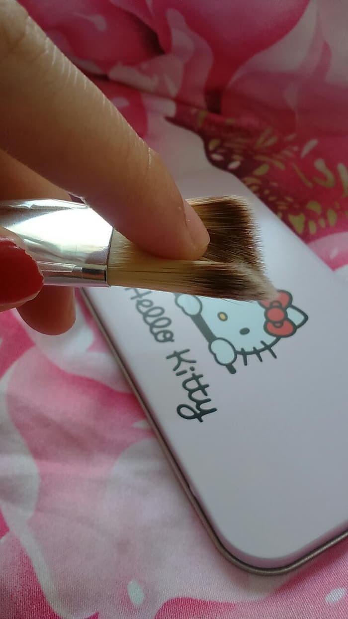 Jual Hello Kitty Travel Make Up Brush Set Isi 7pcs Per Plus Kuas Kaleng 7 Pcs Kotak
