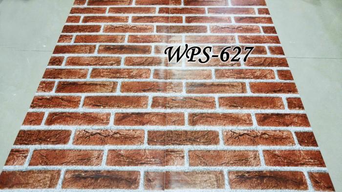 Jual WPS627 BATA MERAH BESAR WALLPAPER STICKER WAL PAPER