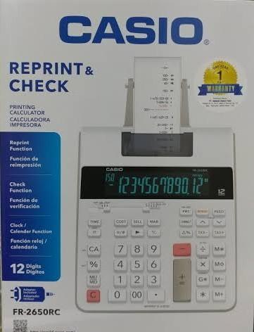 Casio FR 2650 FR-2650 FR2650 Calculator Ink Roller