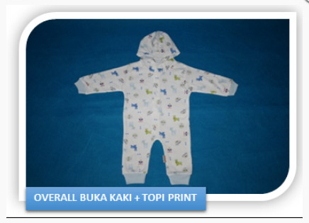 Jual Baju Bayi Sleepsuits Buka Kaki + Topi Little Queen - 3-6 Bulan ... c99785f7b3