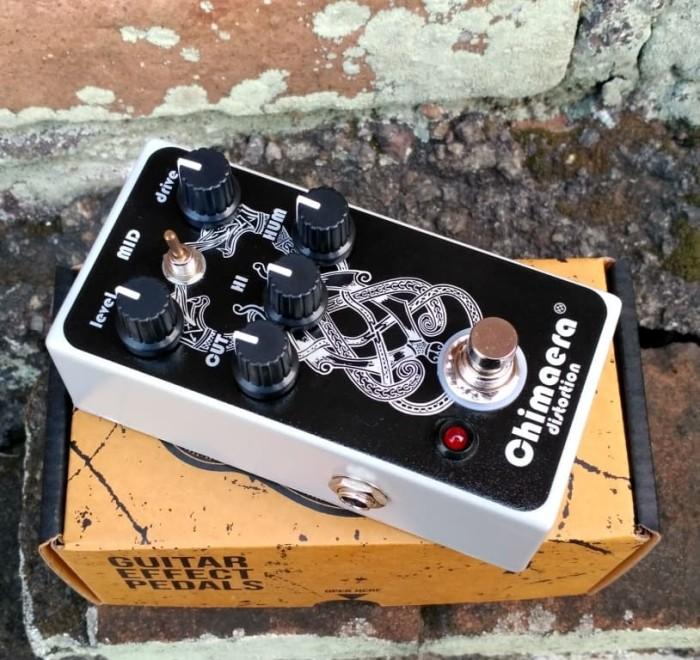 harga Pedal efek gitar stompbox analog chimaera high gain distortion Tokopedia.com