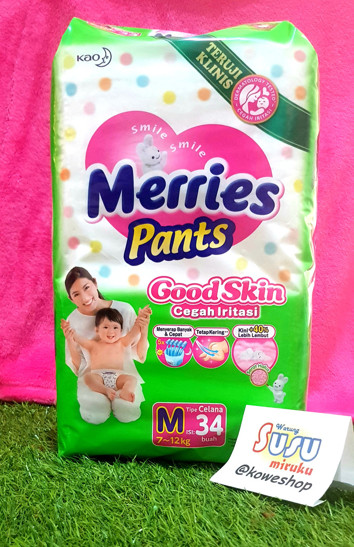 harga Merries pants m34 Tokopedia.com