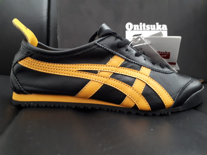 detailed look 95dfc 61848 Jual Sepatu asics onitsuka tiger original bahan kulit asli - Hitam - Kab.  Tangerang - COX olshop | Tokopedia