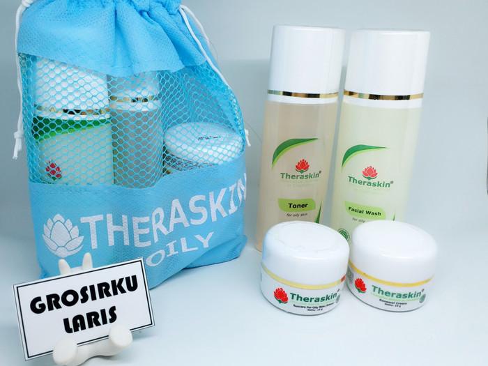 Foto Produk Cream Theraskin Paket Oily dari Grosirku Laris