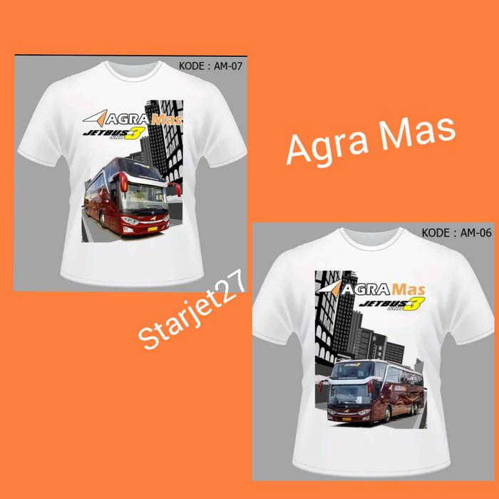 harga Kaos bus agra mas bis agramas jetbus3 shd Tokopedia.com