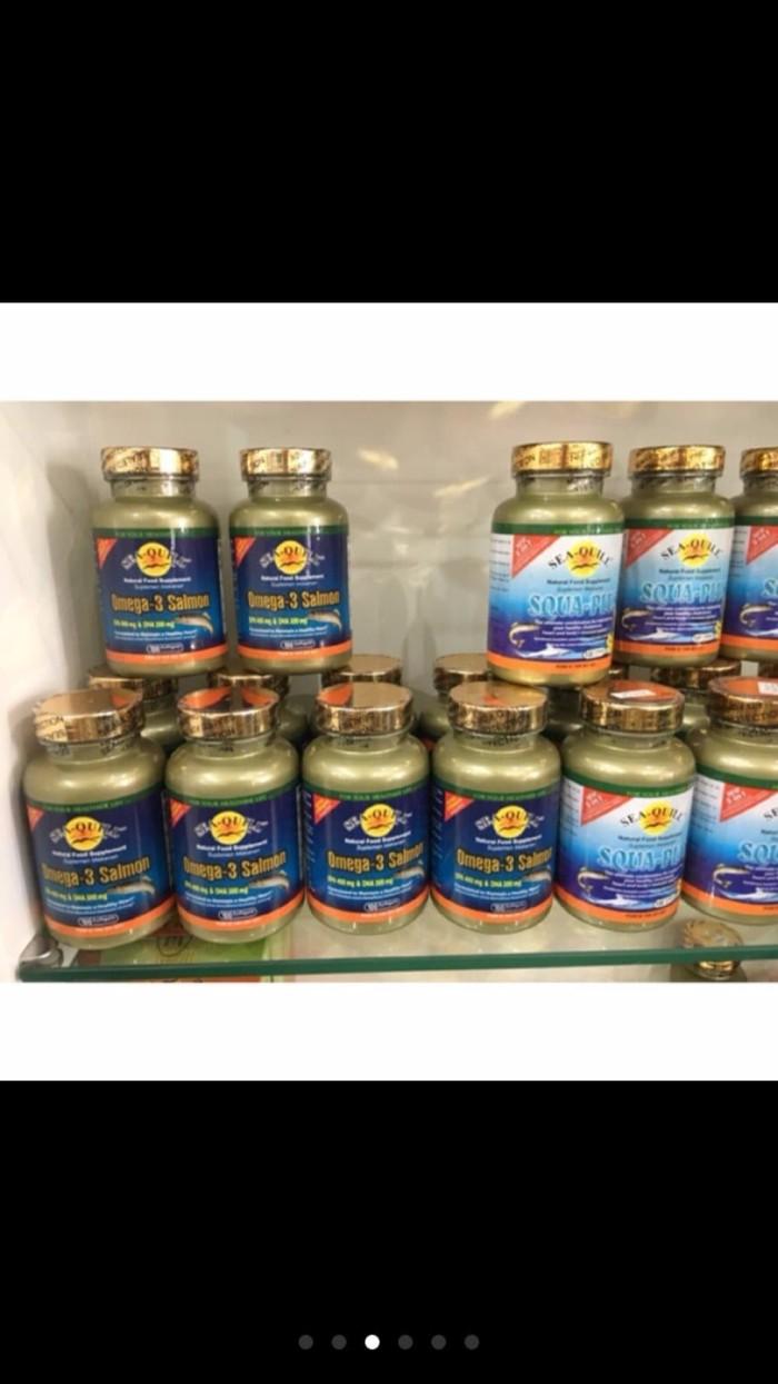 Sea Quill Omega 3 Salmon 60s Daftar Harga Terlengkap Indonesia Sedafit Relafit Jual Isi 100 New Rubber Gun Olshop