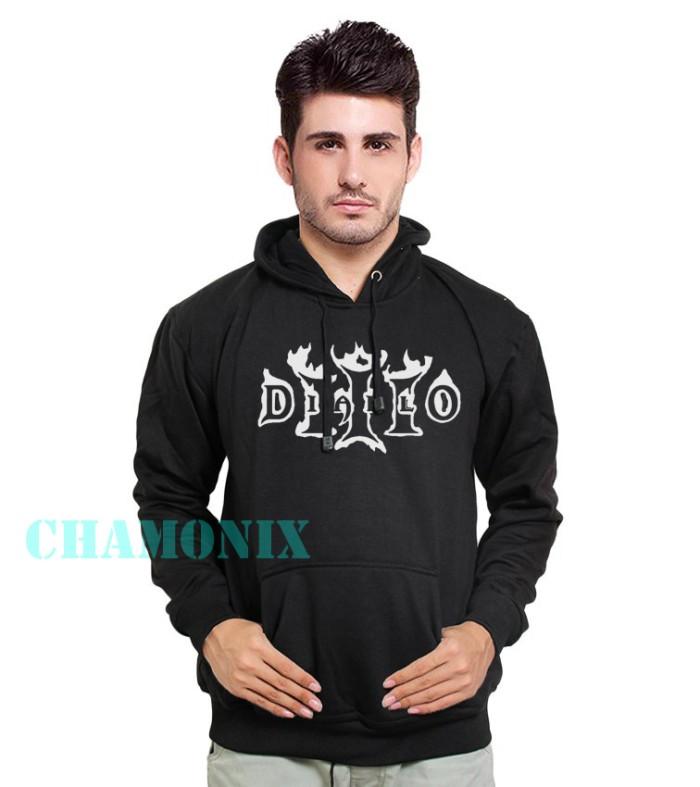 Jaket / Zipper / Hoodie / Sweater Diablo 3 - Hitam