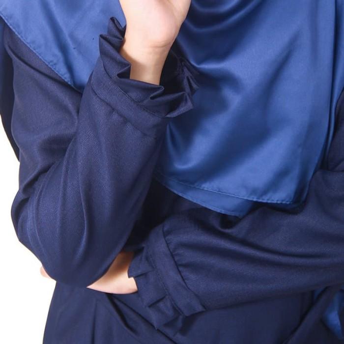 Jual Muslimore Baju Muslim Wanita Gamis Murah Navy Polos Balotelli