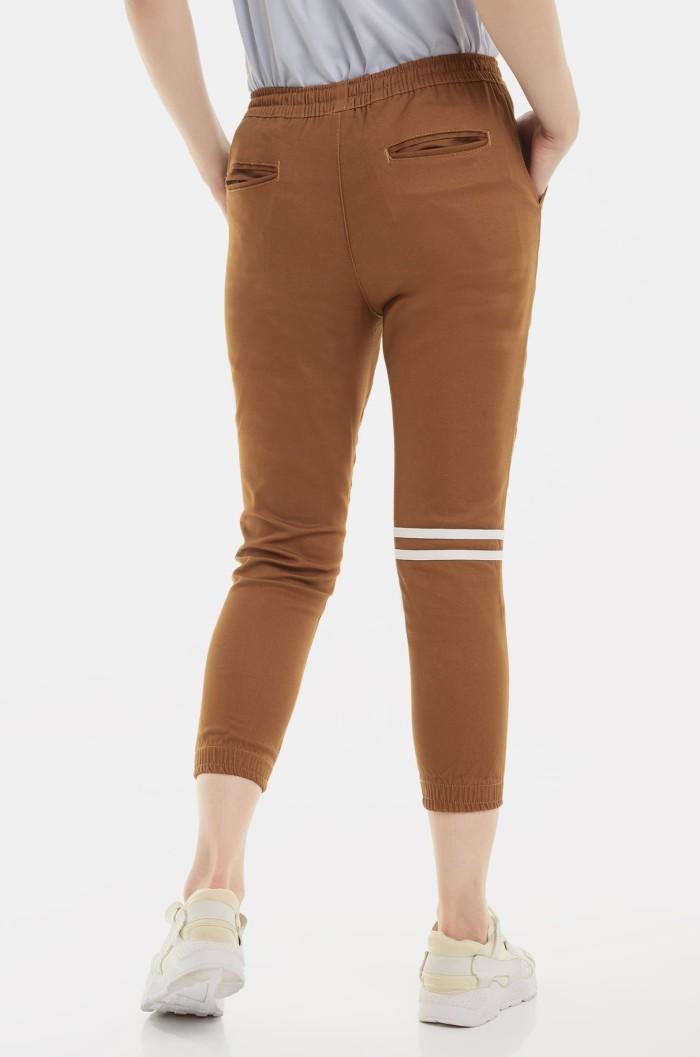 harga Erigo joggerpants - gon dark stripe unisex - cokelat tua l Tokopedia.com