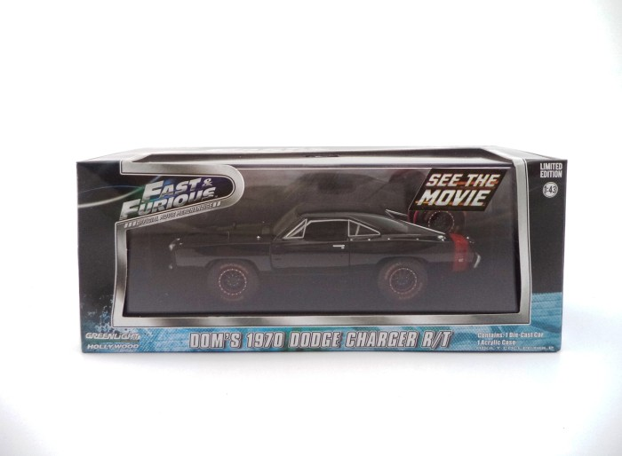 GREENLIGHT FAST & FURIUS DOMS 1970 DODGE CHARGER R/T OFF ROAD VERSION