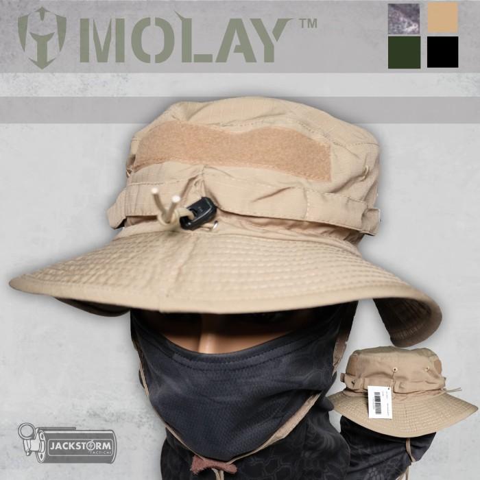 Jual Molay Boonie Hat Coyote Tan - Jackstorm Tactical Store  734293c313a