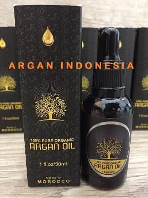100% Pure Organic Argan Oil / Minyak Argan Murni Asli Morocco 30ml