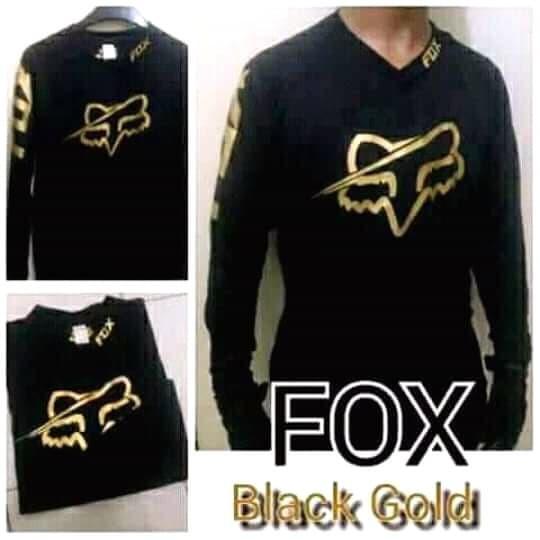 harga Jersey downhill motocross fox warna hitam & biru Tokopedia.com
