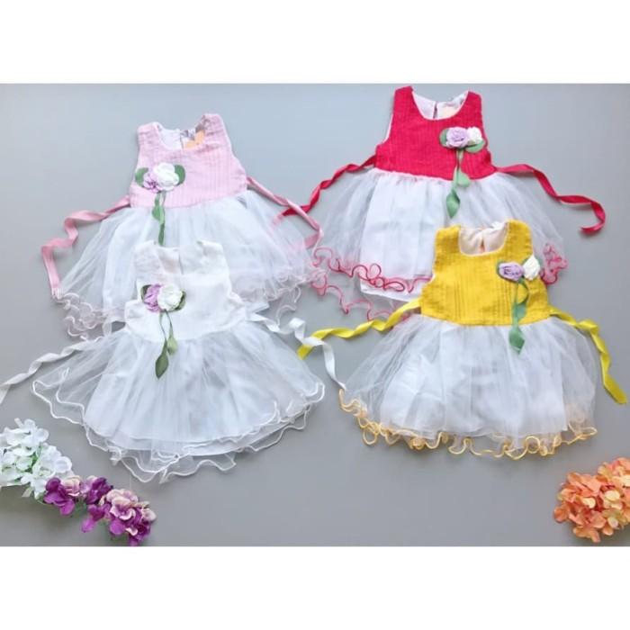 TERMURAH babyfit fairy rainbow dress baju pesta gaun santai casual