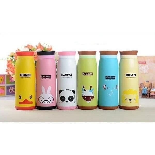 harga New [hot sale] termos air animal karakter botol minum anak panas Tokopedia.com