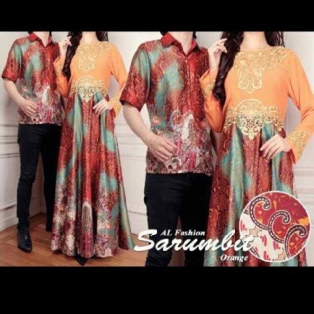 harga Batik couple sarimbit setelan batik fashion muslim baju couple batik Tokopedia.com