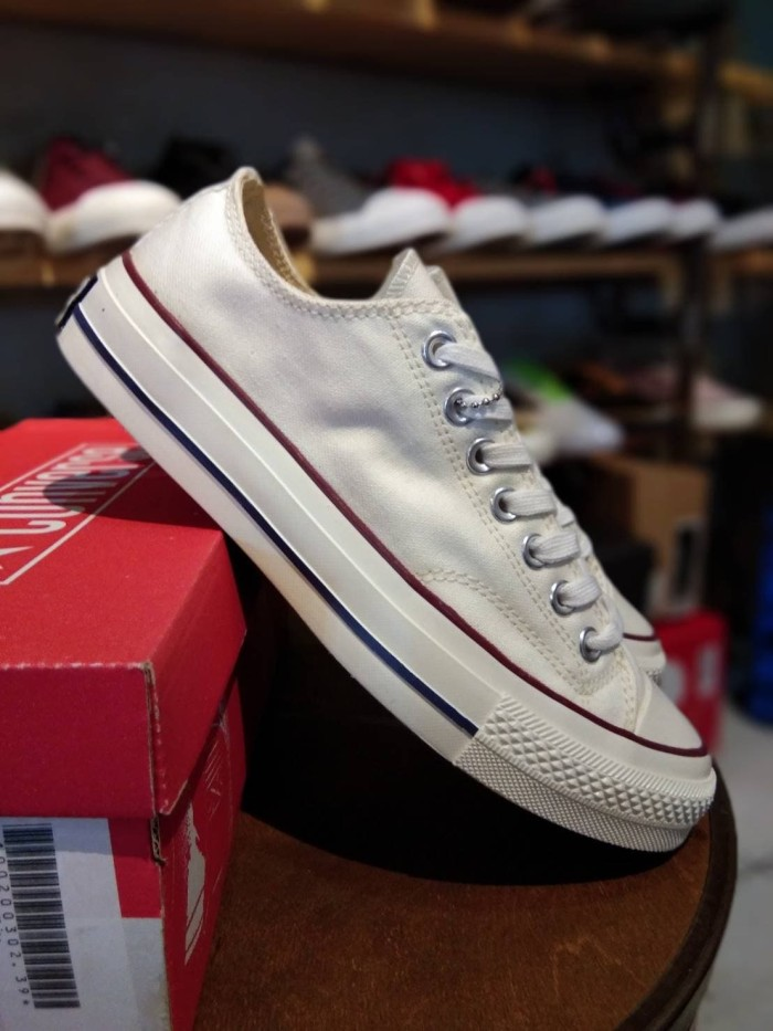 Jual SEPATU CONVERSE CT ALL STAR 70S OFF WHITE - PUTIH ORIGINAL ... 7c21efbf5c