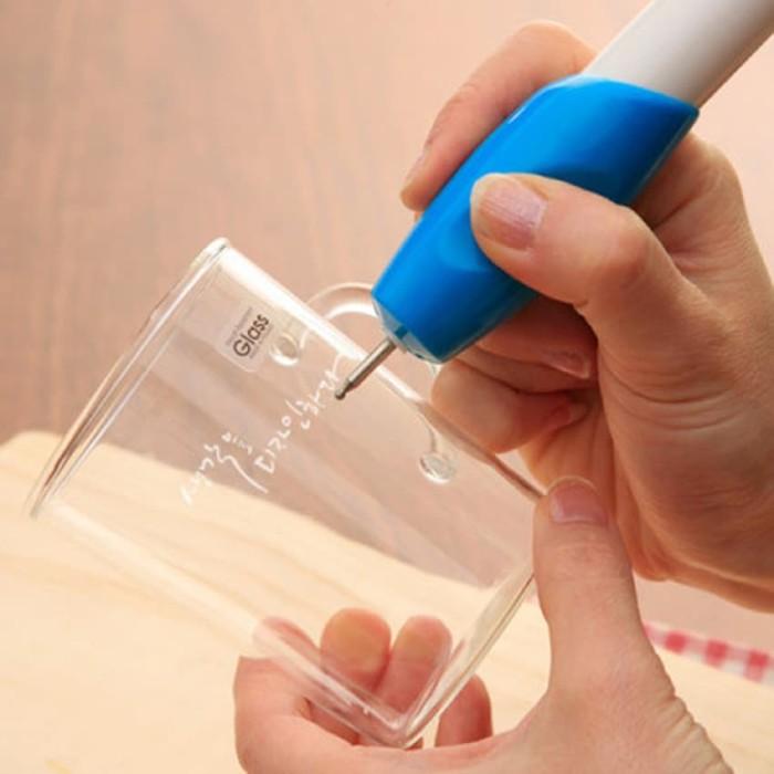 Engrave It Pen Alat Ukir Elektrik mengukir Cincin Gelang Kaca dll