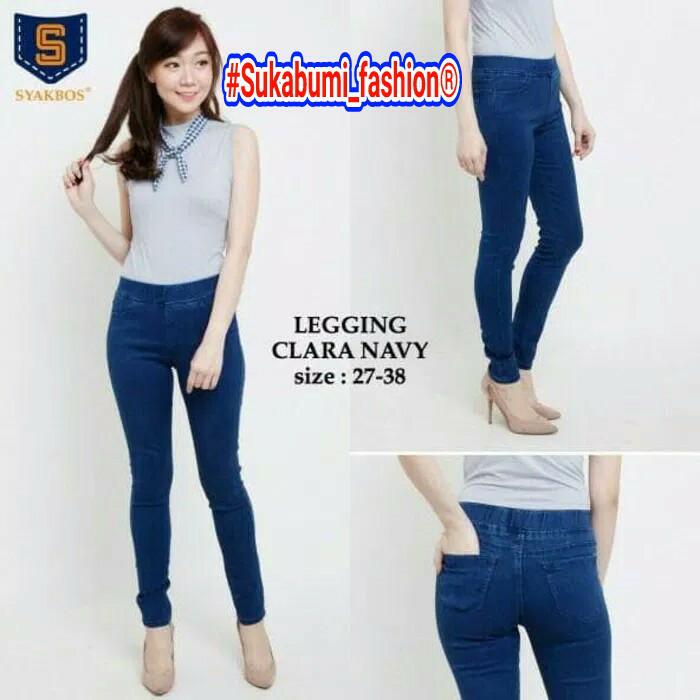 Jual Celana Jeans Levis Cewek Ukuran 31 34 Model Legging Clara Navy Kota Sukabumi Sukabumi Fashion Tokopedia