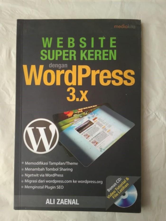 Jual Website Super Keren dengan WordPress 3 x - Ali Zaenal - Kota Tangerang  - Dojo Buku   Tokopedia
