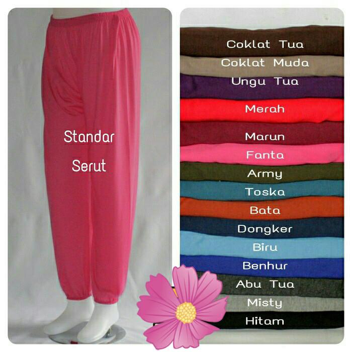 Foto Produk Celana Celamis Kerut/ Jogger Pant/ Celana Cumi Kerut dari Blossom Angel