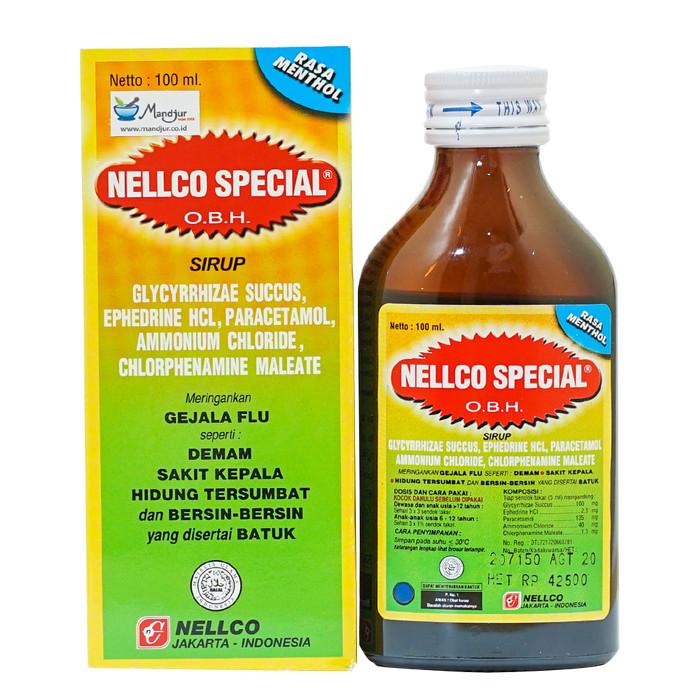 Jual Nellco Special Obat Flu Dan Batuk Pereda Sakit Kepala