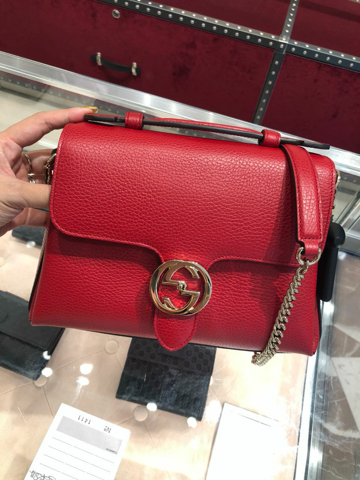 b6c3cd37d6c1a5 Jual New Gucci interlocking with handle red - back2bags | Tokopedia