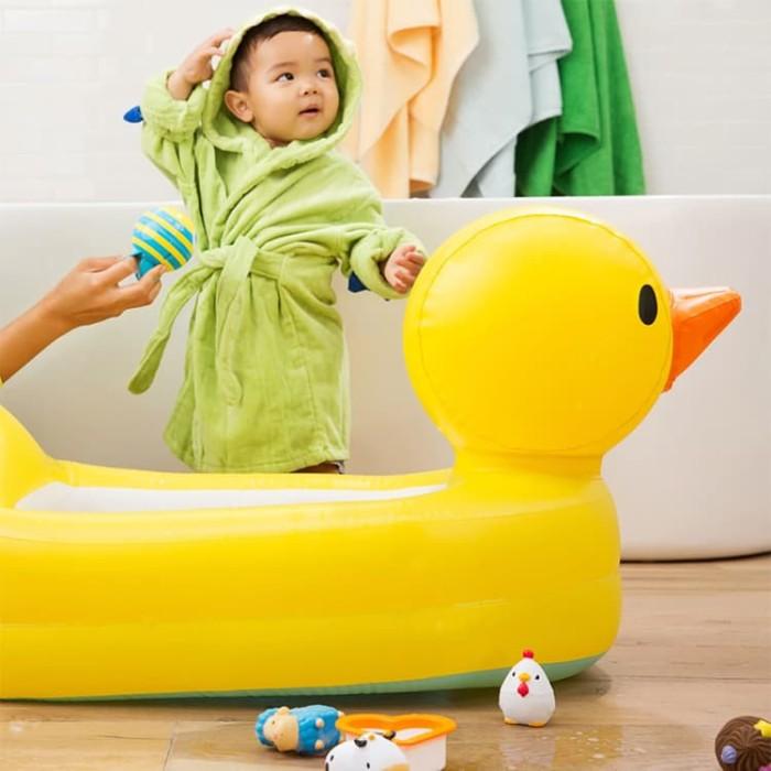 Munchkin Inflatable Duck Tub / Bak Mandi Bebek Munchkin