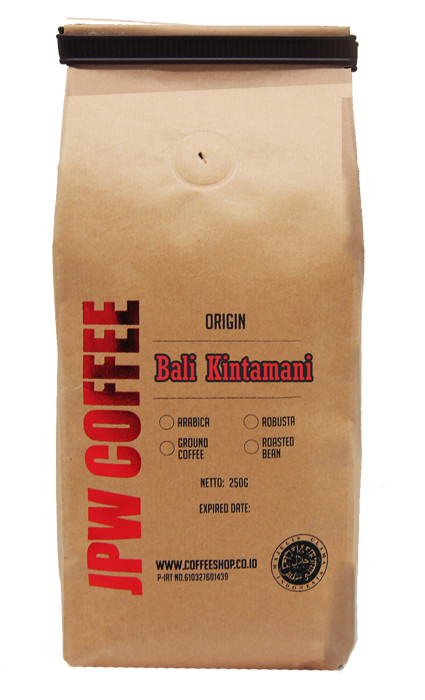 harga Jpw coffee kopi bali kintamani 250g roasted - specialty grade coffee Tokopedia.com