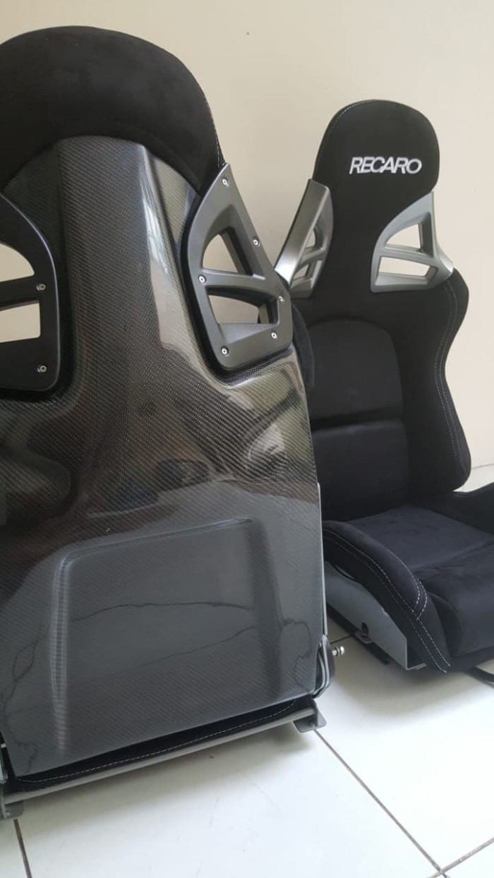 Recaro Racing Car Seat >> Jual Racing Seat Recaro Porsche Black Carbon Black Jakarta Utara Lionel Otopartid Tokopedia