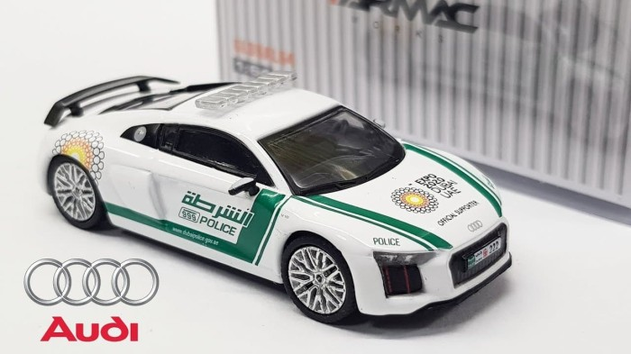 Jual Tarmac Works Audi R8 V10 Plus Dubai Police Tokolada Tokopedia