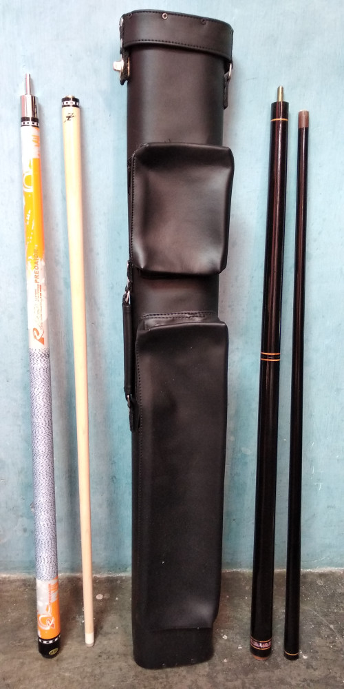 harga Stik billiard biliard uniloc import fullset stik play jumpbreak tas Tokopedia.com