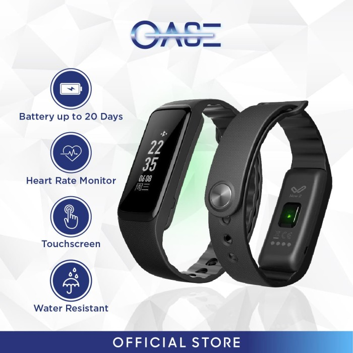 oase weloop now 2 smartband full touch screen gorilla glass