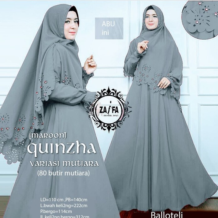 Katalog Muslim Online U4i2 Gamis Muslimah Set Khimar Baju Muslim Mu Terbaru J4r4