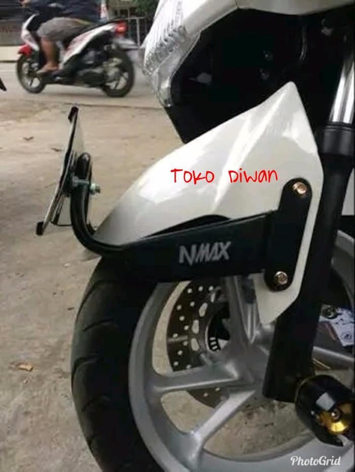 Jual Breket Plat Nomor Nmax Dudukan Plat Motor Nmax Fan
