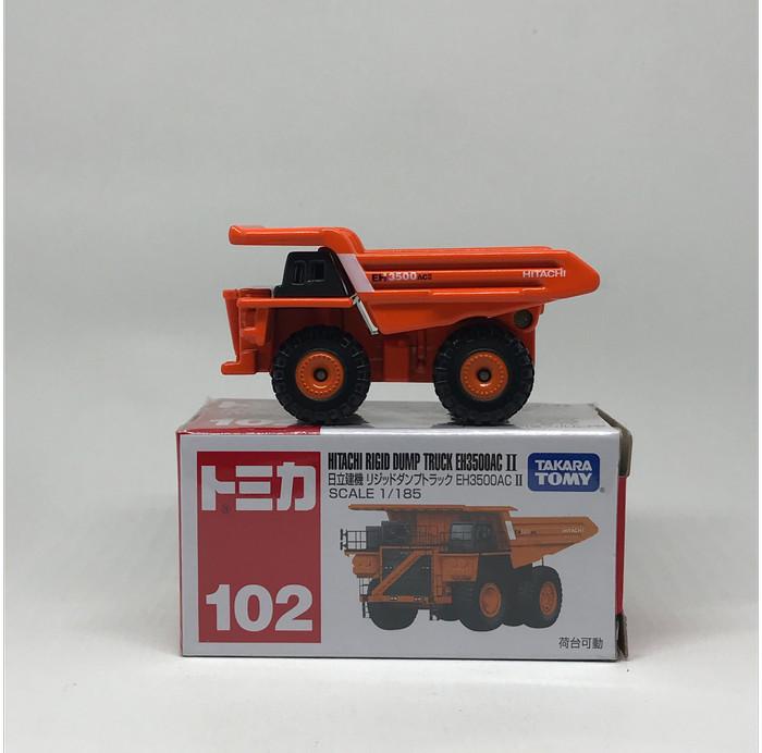 Tomica 102 Alat Berat Hitachi Rigid Dump Truck EH3500AC II
