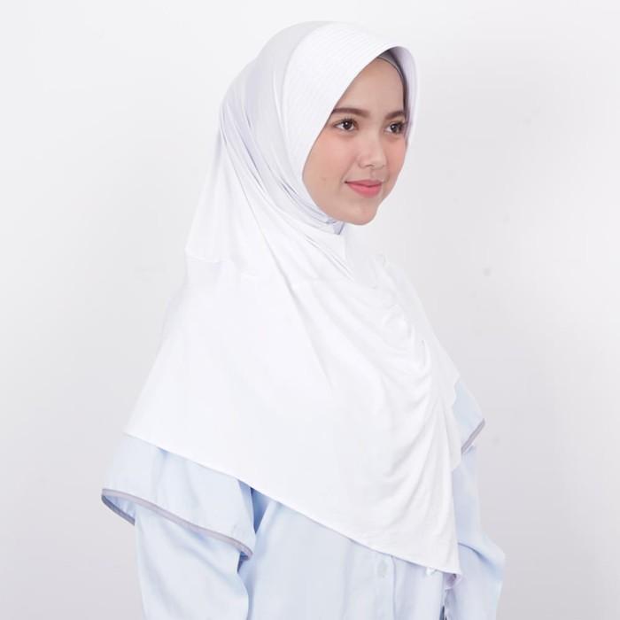 zoya kerudung instan hijab cantik - kalila filia warna putih